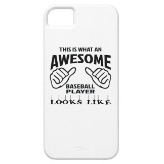 This is what an awesome baseball player looks like iPhone SE/5/5s case