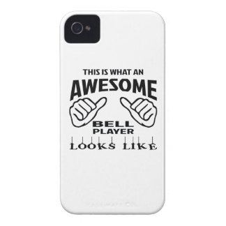 This is what an awesome Bell player looks like iPhone 4 Case-Mate Case