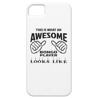 This is what an awesome bongo player looks like iPhone SE/5/5s case