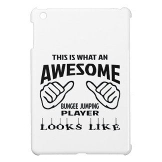 This is what an awesome Bungee Jumping player look iPad Mini Case
