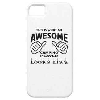 This is what an awesome Camping player looks like iPhone SE/5/5s Case