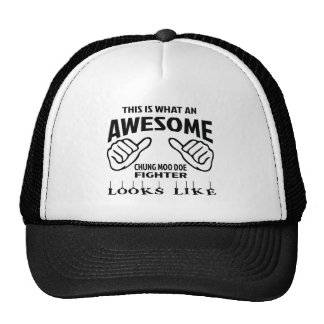 This is what an awesome Chung Moo Doe Fighter look Trucker Hat