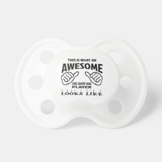 This is what an awesome Cross Country Skiing playe Pacifier