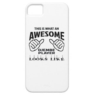 This is what an awesome djembe player looks like iPhone SE/5/5s case