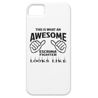 This is what an awesome Escrima Fighter looks like iPhone SE/5/5s Case