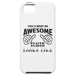 This is what an awesome flute player looks like iPhone SE/5/5s case
