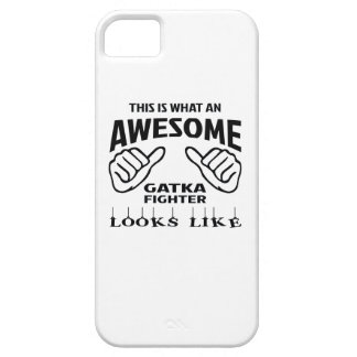 This is what an awesome Gatka Fighter looks like iPhone SE/5/5s Case