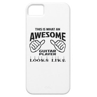This is what an awesome guitar player looks like iPhone SE/5/5s case