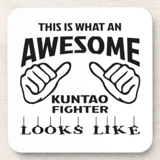 This is what an awesome Kuntao Fighter looks like Beverage Coaster
