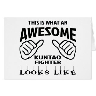 This is what an awesome Kuntao Fighter looks like Card