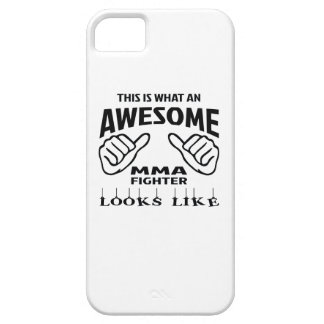 This is what an awesome MMA Fighter looks like iPhone SE/5/5s Case