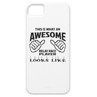 This is what an awesome Relay Race player looks li iPhone SE/5/5s Case