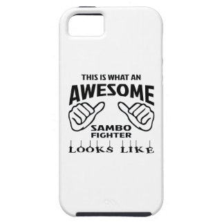 This is what an awesome Sambo Fighter looks like iPhone SE/5/5s Case