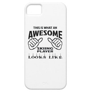 This is what an awesome Skiing player looks like iPhone SE/5/5s Case