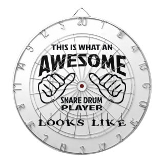 This is what an awesome Snare Drum player looks li Dartboard