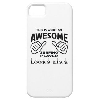 This is what an awesome Surfing player looks like iPhone SE/5/5s Case