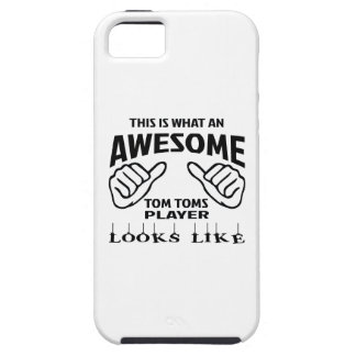 This is what an awesome Tom Toms player looks like iPhone SE/5/5s Case