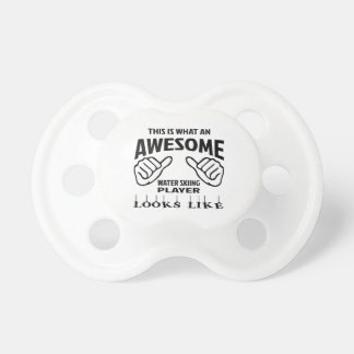 This is what an awesome Water Skiing player looks Pacifier
