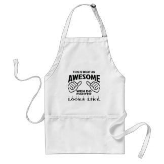 This is what an awesome Wen-Do Fighter looks like Adult Apron