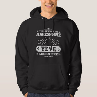 This Is What An Awesome Yeye Looks Like Hooded Pullover