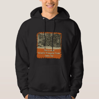This is What Atlantic Triangular Trade Looks Like Hoodie