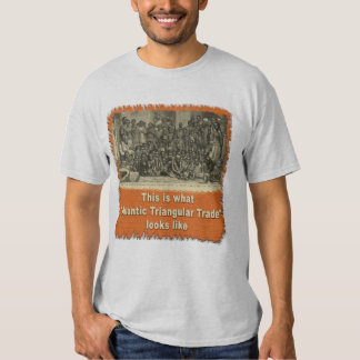This is What Atlantic Triangular Trade Looks Like T-shirt