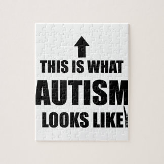 This is what autism looks like! puzzle