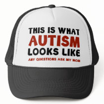 This Is What Autism Looks Like Trucker Hat