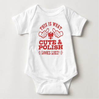This Is What Cute And Polish Looks Like Baby Bodysuit