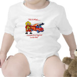 This is what Future Fire fighter looks like Baby Bodysuit