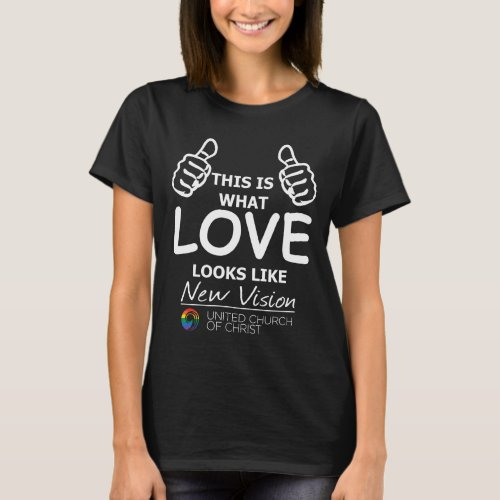 This is What Love Looks Like Rainbow Dark Color T_Shirt