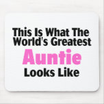 This Is What The World's Greatest Auntie Looks  Li Mouse Pad