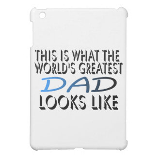 This Is What The World's Greatest Dad (2) iPad Mini Cover