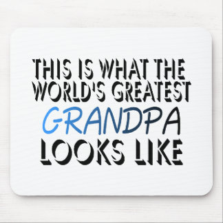 This Is What The World's Greatest Grandpa (2) Mouse Pad