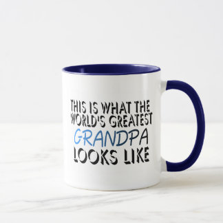 This Is What The World's Greatest Grandpa (2) Mug