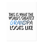 This Is What The World's Greatest Grandpa (2) Postcard