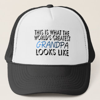 This Is What The World's Greatest Grandpa (2) Trucker Hat