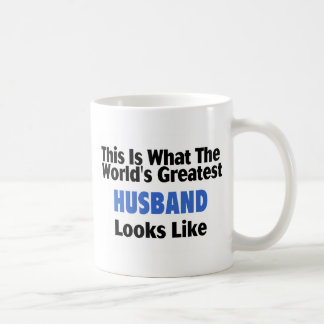 This Is What The World's Greatest Husband Looks  L Coffee Mug
