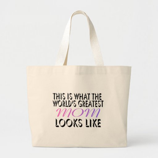 This Is What The World's Greatest Mom (2) Jumbo Tote Bag