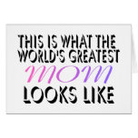 This Is What The World's Greatest Mom (2) Cards