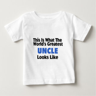 This Is What The World's Greatest Uncle Looks  Lik T-shirt