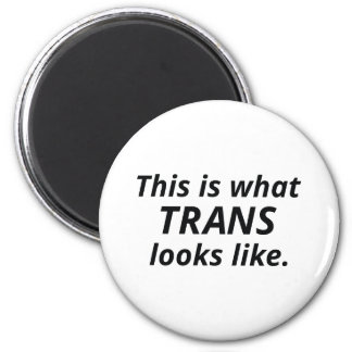 This Is What Trans Looks Like Magnet
