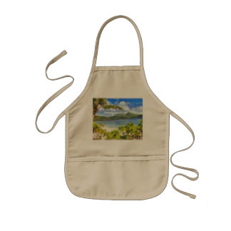 This is where I want to be Kids' Apron