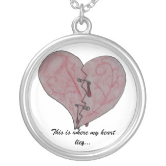 This is Where My Heart Lies Necklace