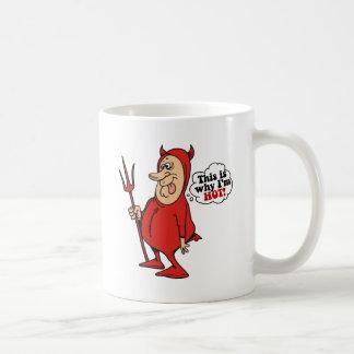 This Is Why I'm Hot Classic White Coffee Mug