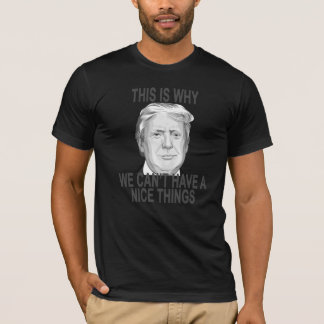 This Is Why We Can't Have Nice Things Donald Trump T-Shirt
