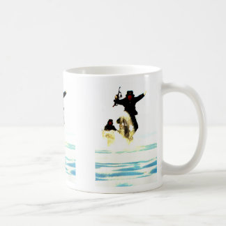 This is winter classic white coffee mug