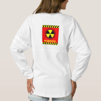 This Is Your 10 Second Get Out Of My Face Warning Spirit Jersey