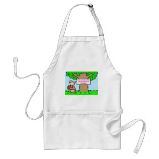 this is your park, metaphorically speaking adult apron