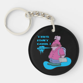 This Isnt Cool Keychain